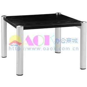 恩荣 板木小茶几(现代铝合金脚) 胡桃木色>