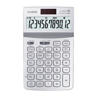 卡西欧JW-200TW-WE可折式时尚办公计算器 莹雪白