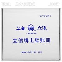 立信 总分类账 TR201