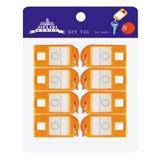 杰丽斯 钥匙扣[8个/卡]<橙色>