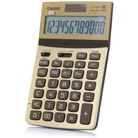 卡西欧JW-200TW-GD可折式时尚办公计算器 尊贵金