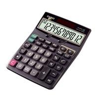 卡西欧DJ-120TG 专业计算器 百步回查 黑色