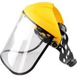 头箍式PC防化防冲击面屏安全帽