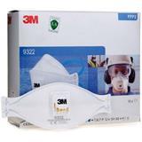 3M FFP2带阀颗粒物防护口罩 头戴式/折叠式 9322(10个/盒)