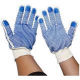 斯博瑞安 双面点塑防滑工作手套