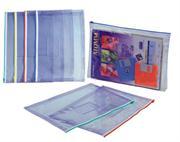 金得利 W67C 文件袋(尺寸:343X255X35mm,A4)颜色随机